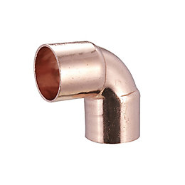 End Feed Elbow (Dia)22mm, Pack of 2