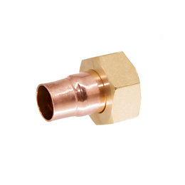 End feed Straight tap connector (Dia)15mm
