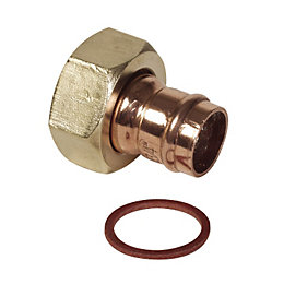 Solder Ring Connector (Dia)15mm, Pack of 2