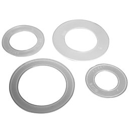 Plumbsure Plastic Tap Washer, Pack of 4