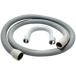 Plumbsure Push Fit Plastic Outlet Hose (Dia)21mm (L)1.5m