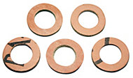 "Plumbsure Fibre Washer (Thread)1/2"", Pack of 5"