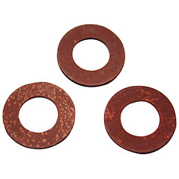 Plumbsure Fibre Washer, Pack of 3