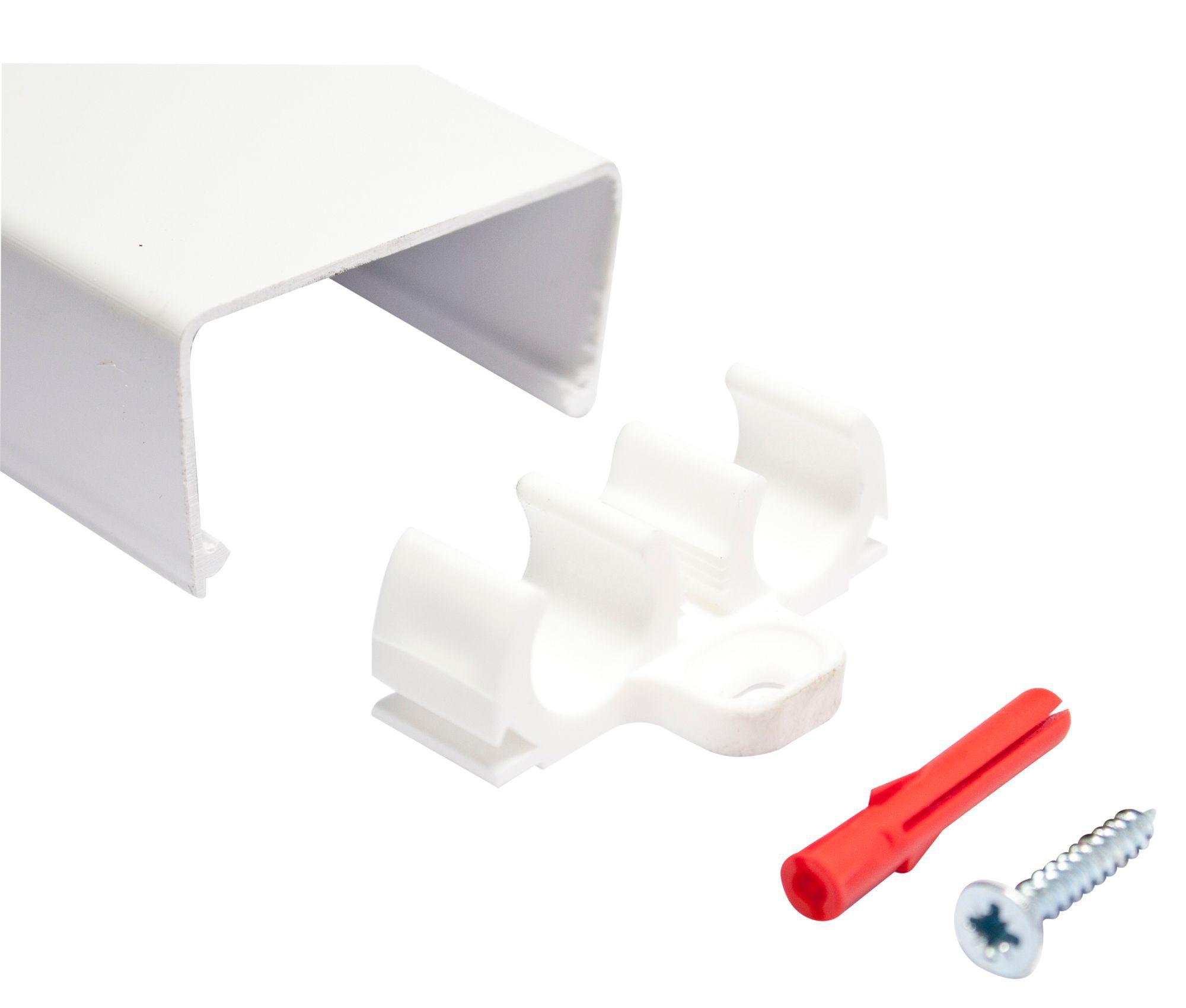 Plumbsure Double Pipe Clip Dia 15mm Departments Diy