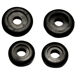 "Plumbsure Rubber Tap Washer (Thread)3/4"", Pack of 4"