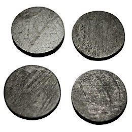 "Plumbsure Rubber Ballvalve Washer (Thread)5/8"", Pack of 4"