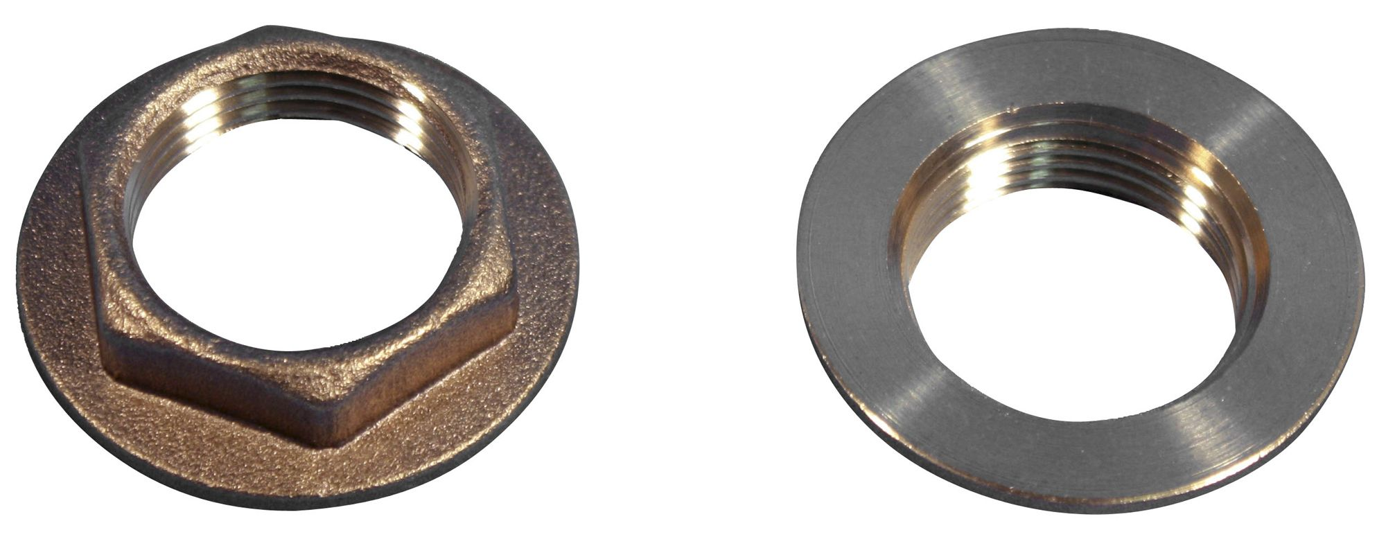 Plumbsure Brass Threaded Flanged Backnut Thread 3 4
