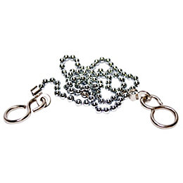 Plumbsure Metal & Plastic Chain Eye Chrome Effect