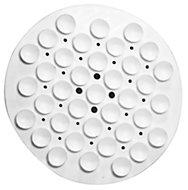 Plumbsure White Suction soap holder