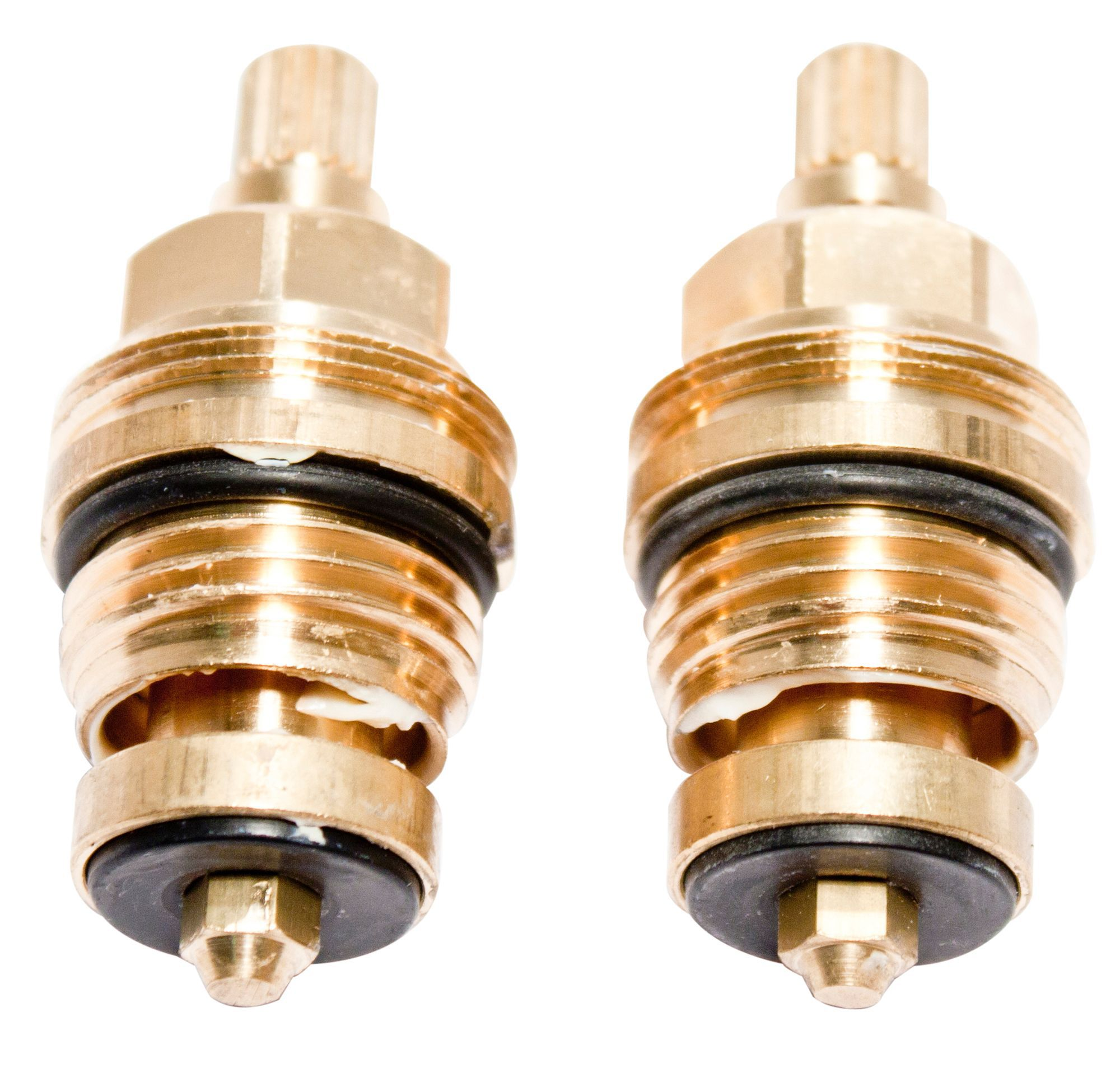 Plumbsure Brass Threaded Tap Gland With 8mm Spline
