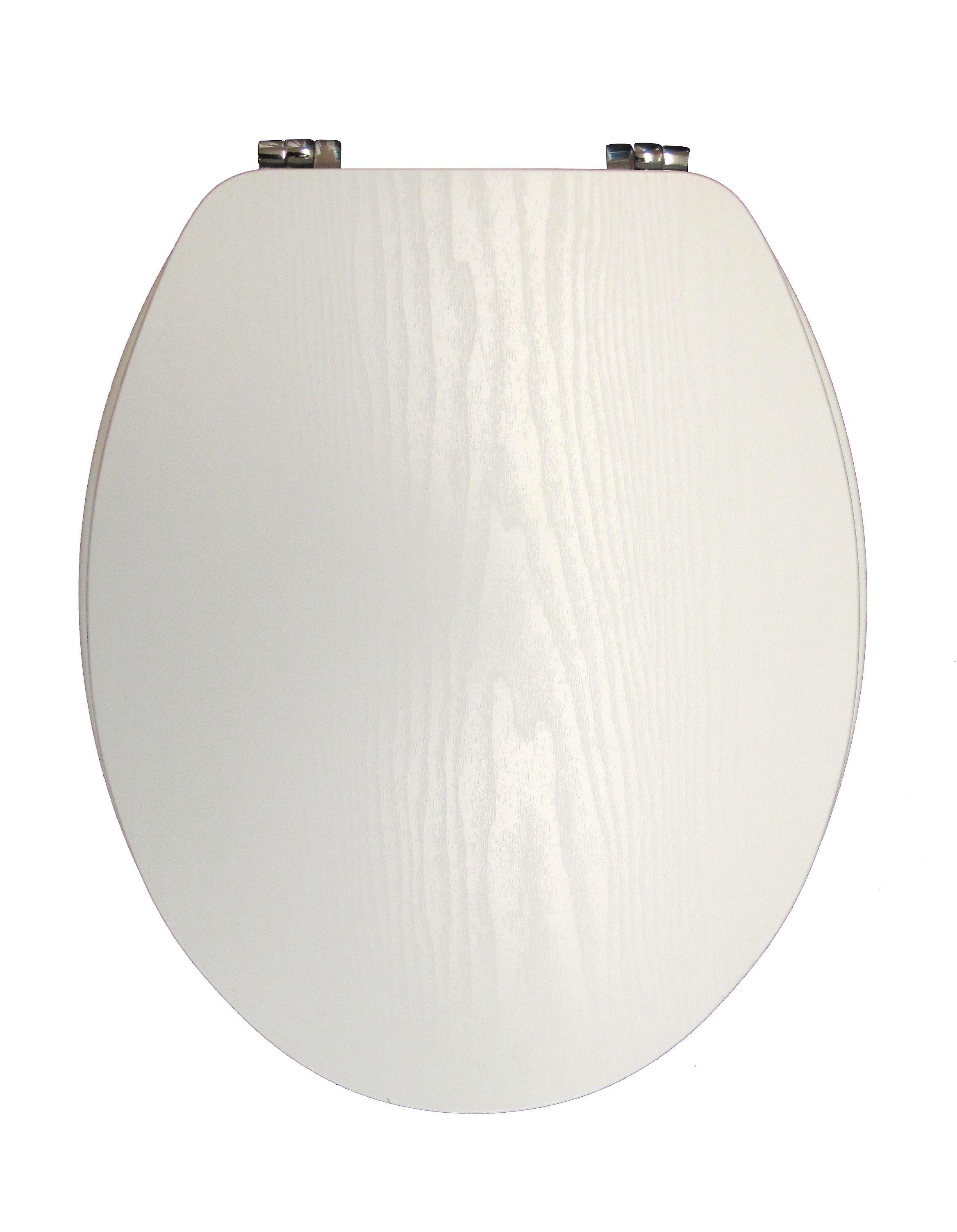 Amazing Cooke Lewis Wooden White Toilet Seat Departments Diy At Bq Creativecarmelina Interior Chair Design Creativecarmelinacom