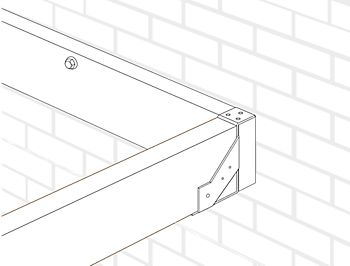 join the sub-frame joists to the wall joists