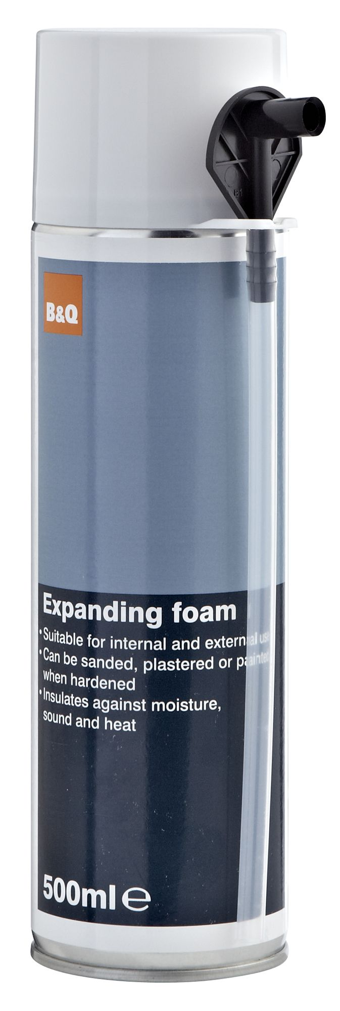 B&Q Champagne Expanding Foam 500 ml | Departments | DIY at B&Q