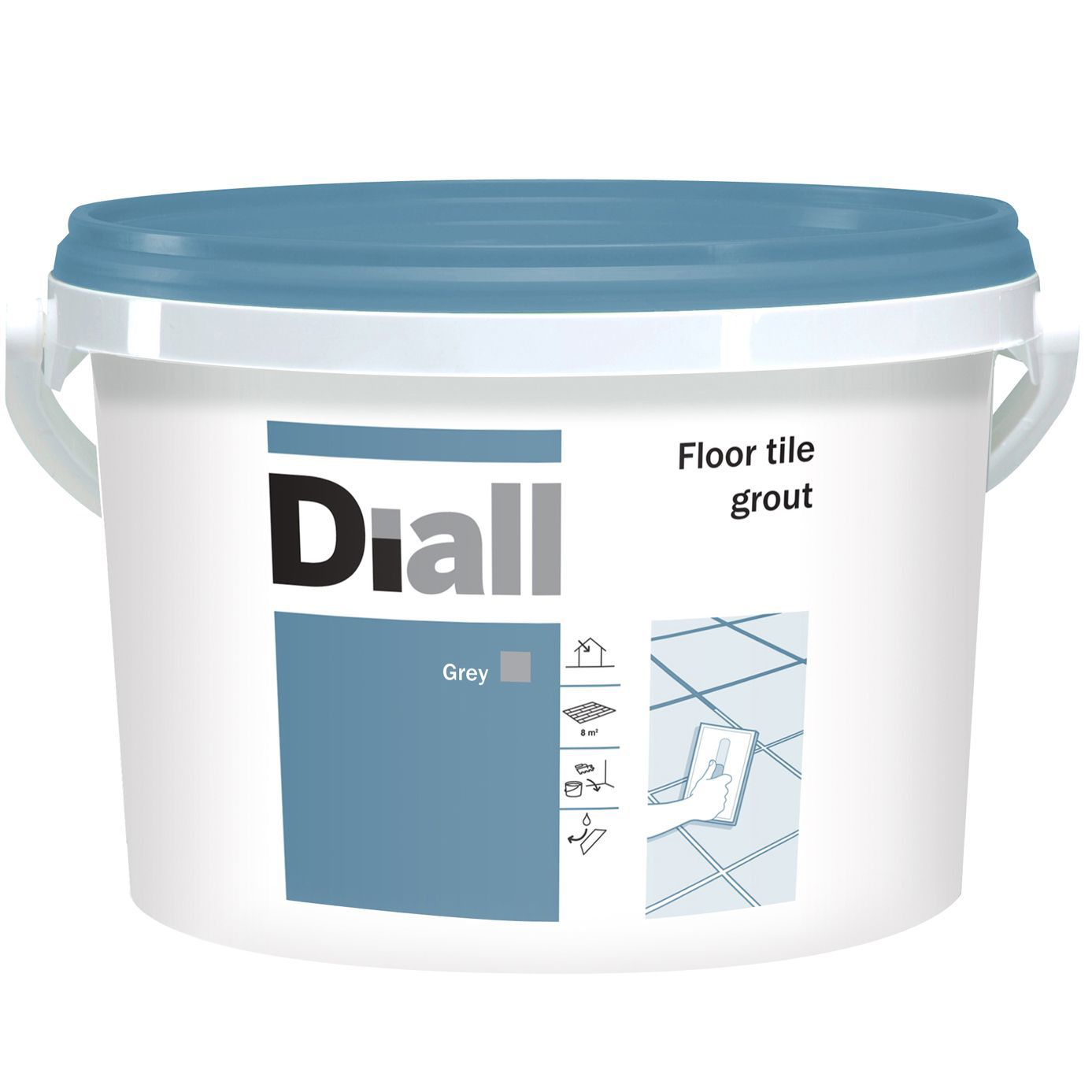 Diall grey floor tile grout w375kg departments diy at bq dailygadgetfo Gallery