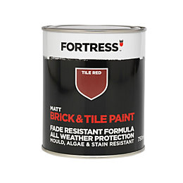 Fortress Tile Red Matt Brick & Tile Paint