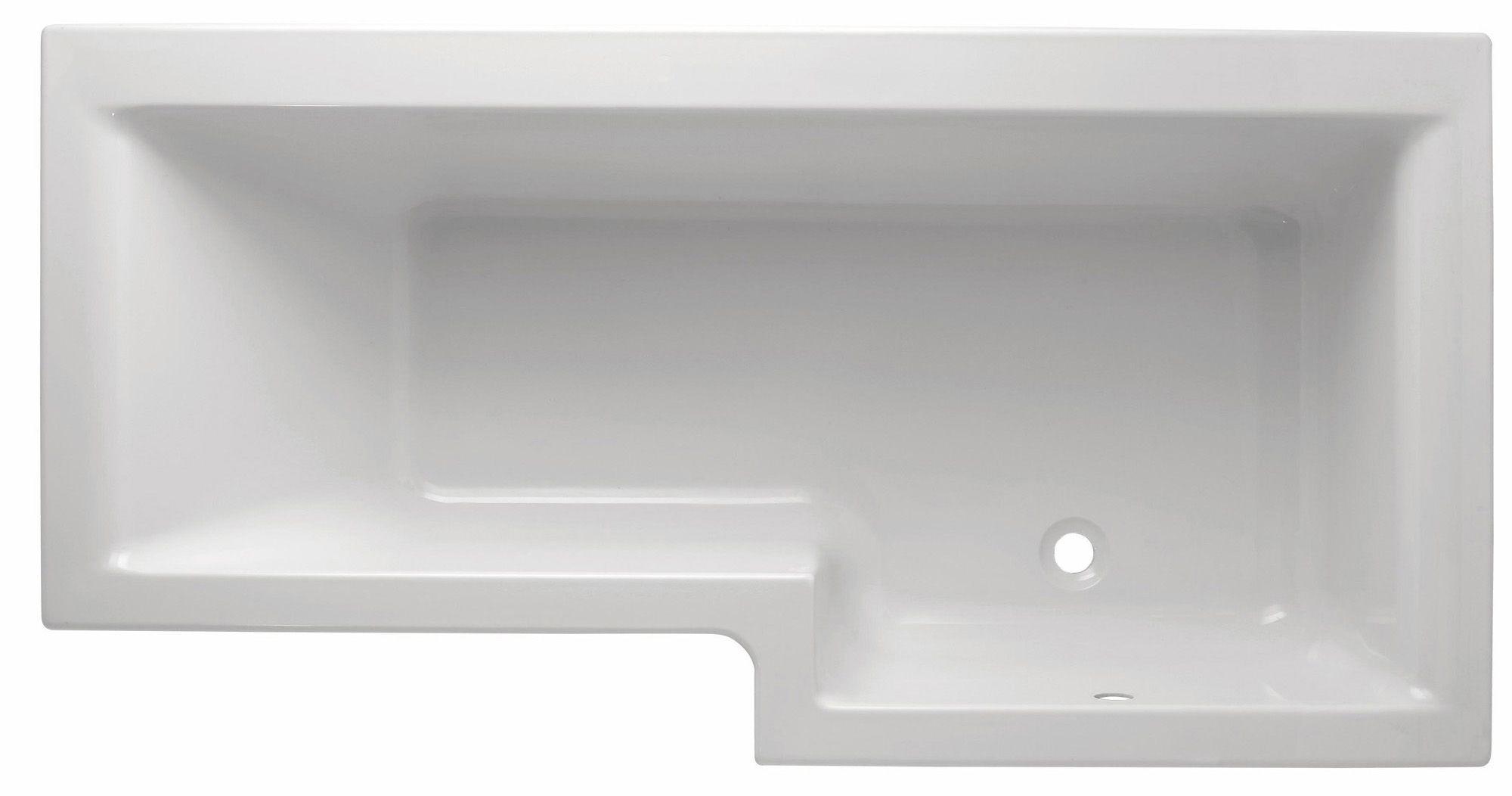 Cooke Amp Lewis Adelphi Rh Supercast Acrylic L Shaped Shower