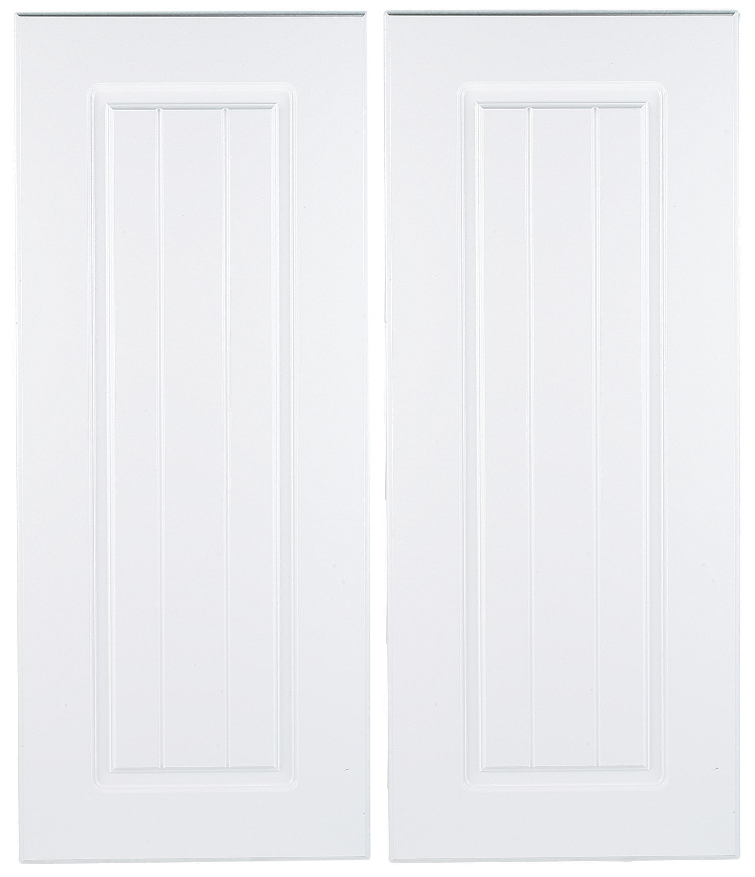 It Kitchens Chilton White Country Style Corner Base Door (W)925Mm,