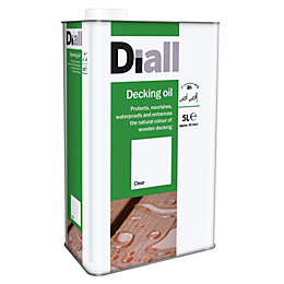 Diall Clear Decking oil 5L