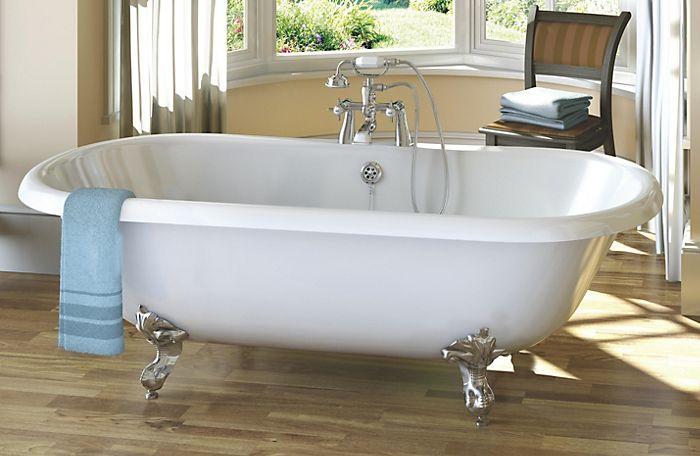 cooke & lewis strand acrylic corner bath (l)1350mm (w)1890mm