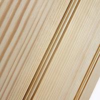 Vertical 2 panel Clear pine Internal Door, (H)1981mm (W)610mm