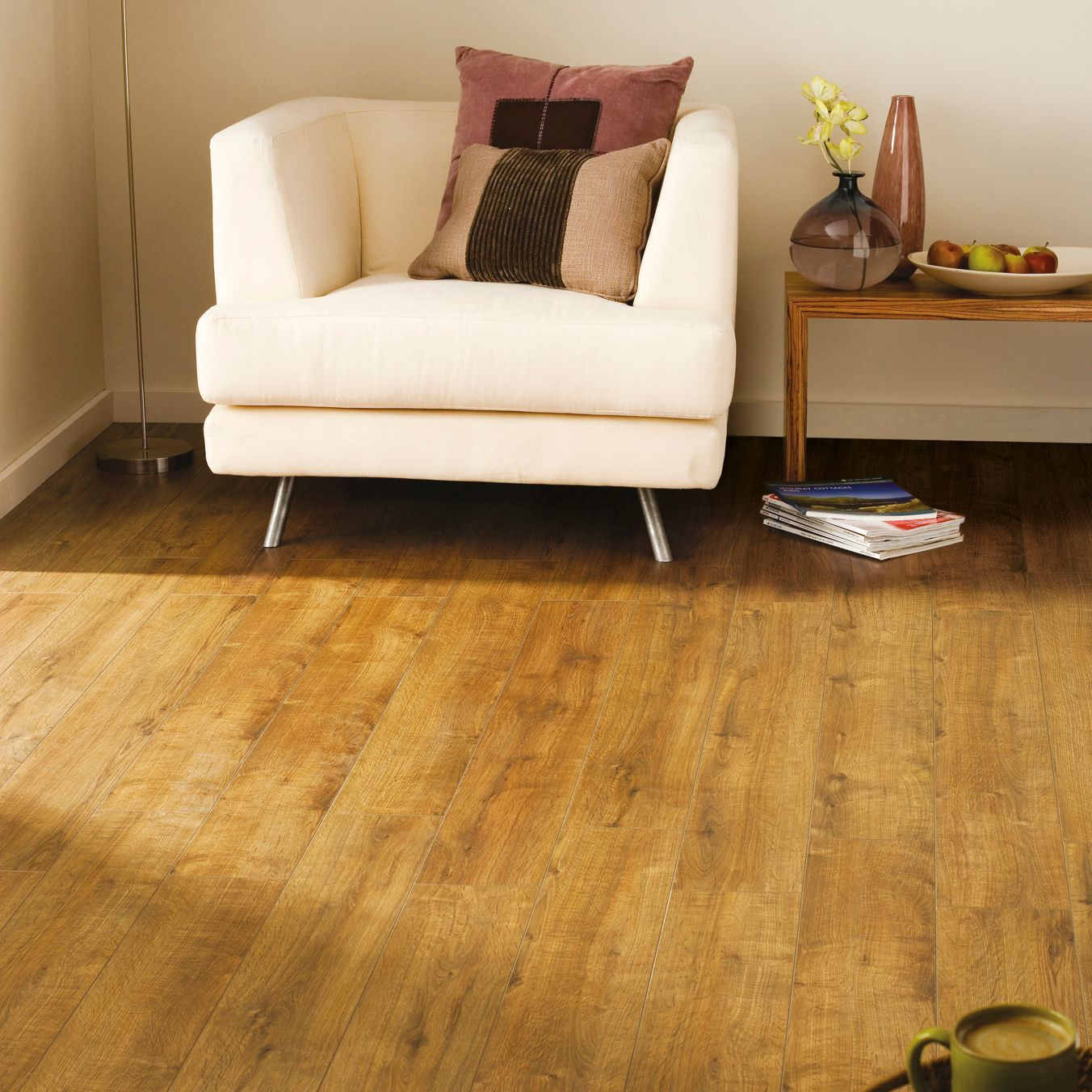 Concertino Kolberg Oak Effect Laminate Flooring 1 48 M² Pack Departments Diy At B Q