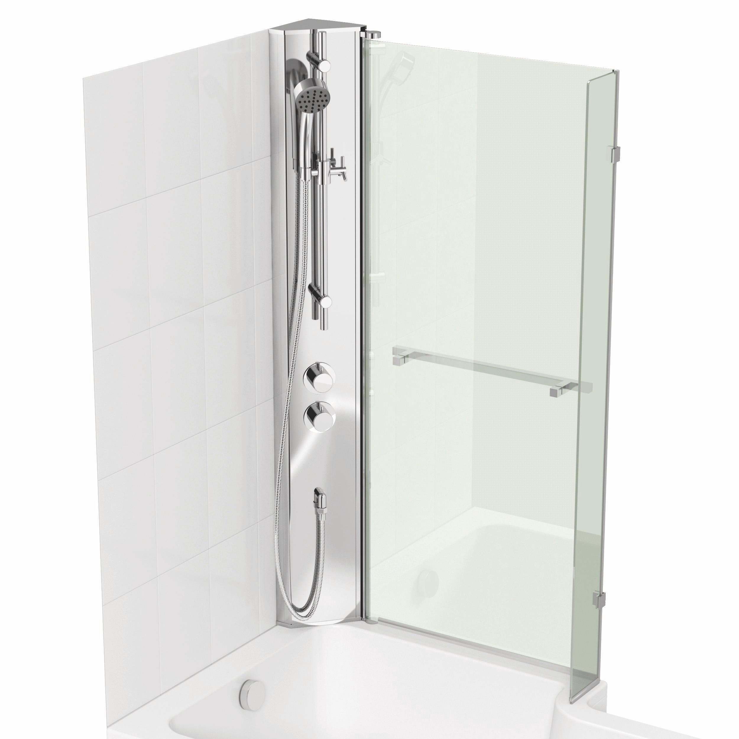 Cooke Amp Lewis Adelphi Lh Shower Column Amp L Shaped Bath