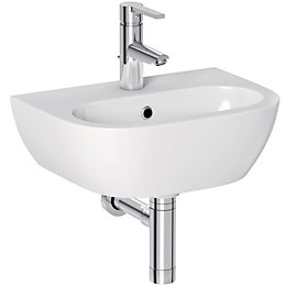 Cooke & Lewis Helena Wall mounted cloakroom basin