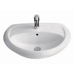 Cooke & Lewis Romeo Semi-Recessed Basin