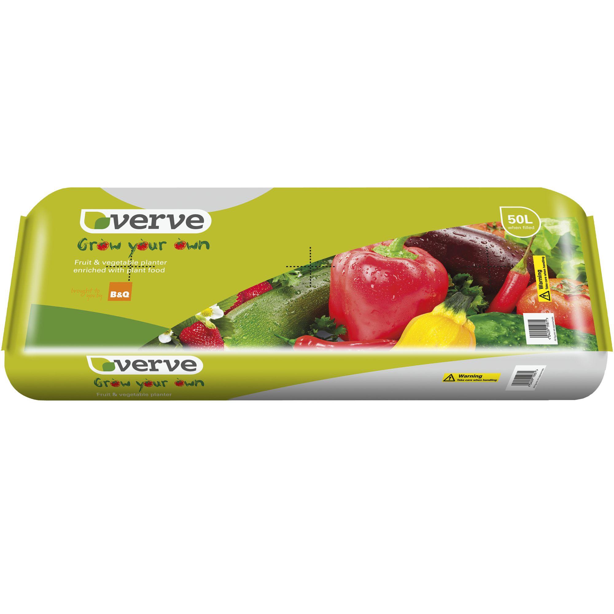 Verve Grow Bag 50l Departments Diy At B Q