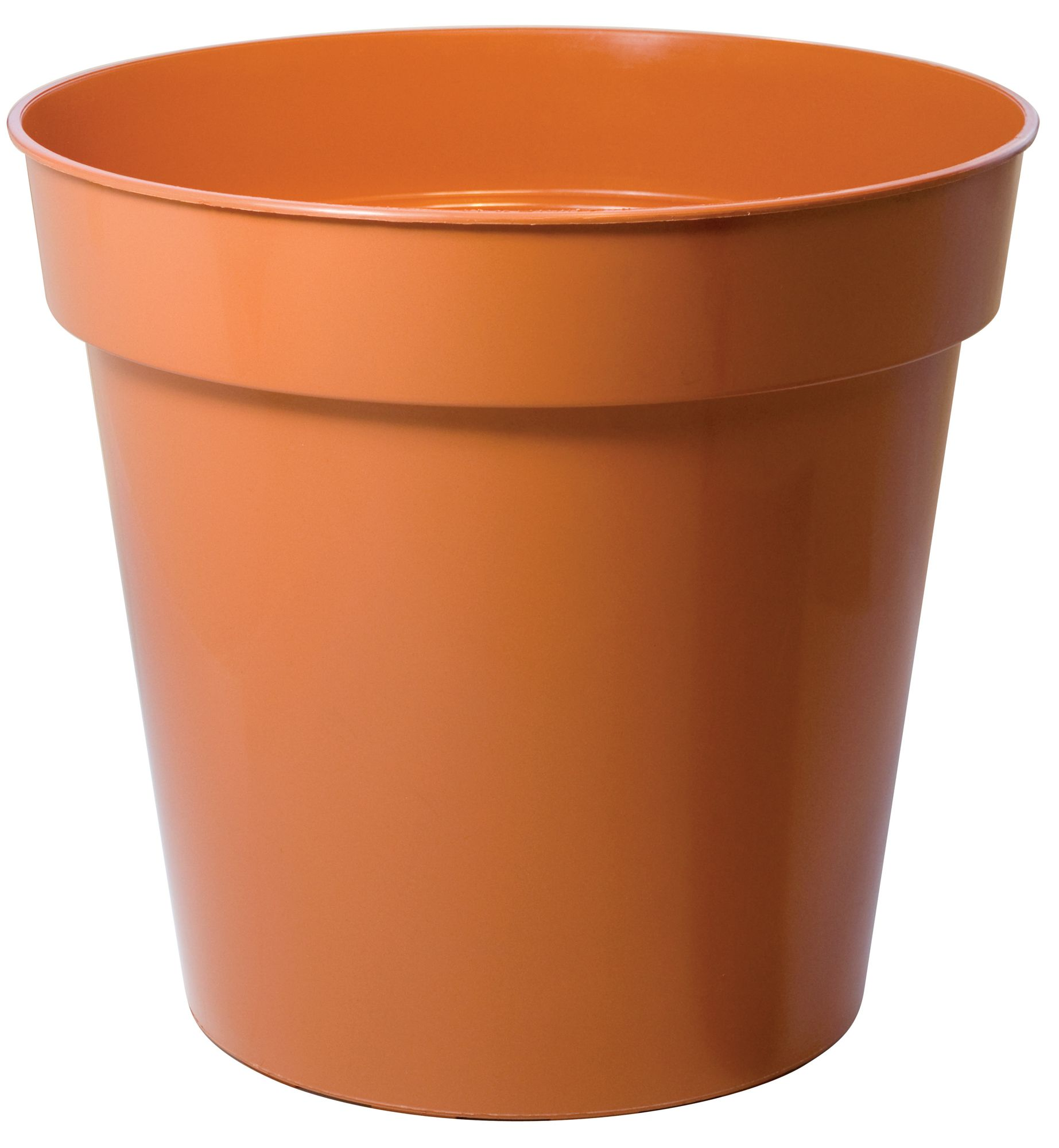 Plastic Terracotta Plant Pot Dia 254mm Departments