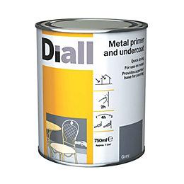Diall Grey Primer & undercoat 0.75L