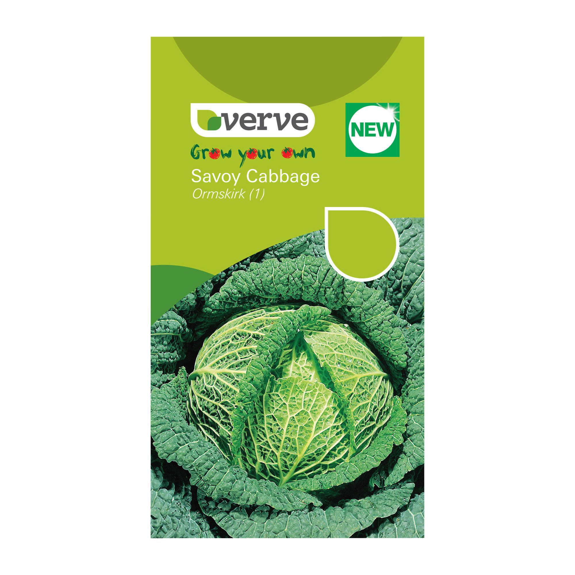 Verve Savoy Cabbage Seeds Ormskirk 1 Rearguard Mix