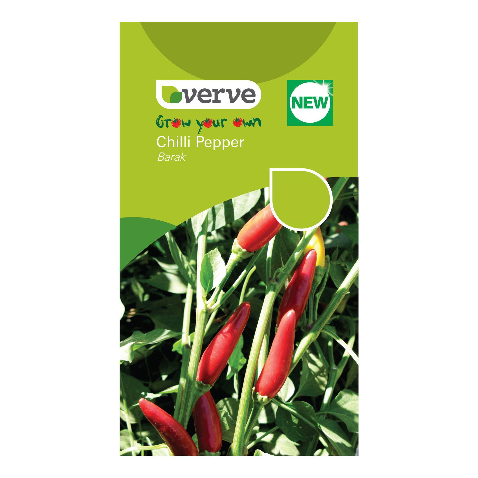 Verve Pepper Chilli Seeds, Barak Mix | Departments | DIY at B&Q