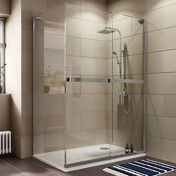 Shower Enclosure Tray Buying Guide Ideas Advice Diy At Bq