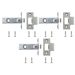 B&Q Tubular Latch (L)64mm