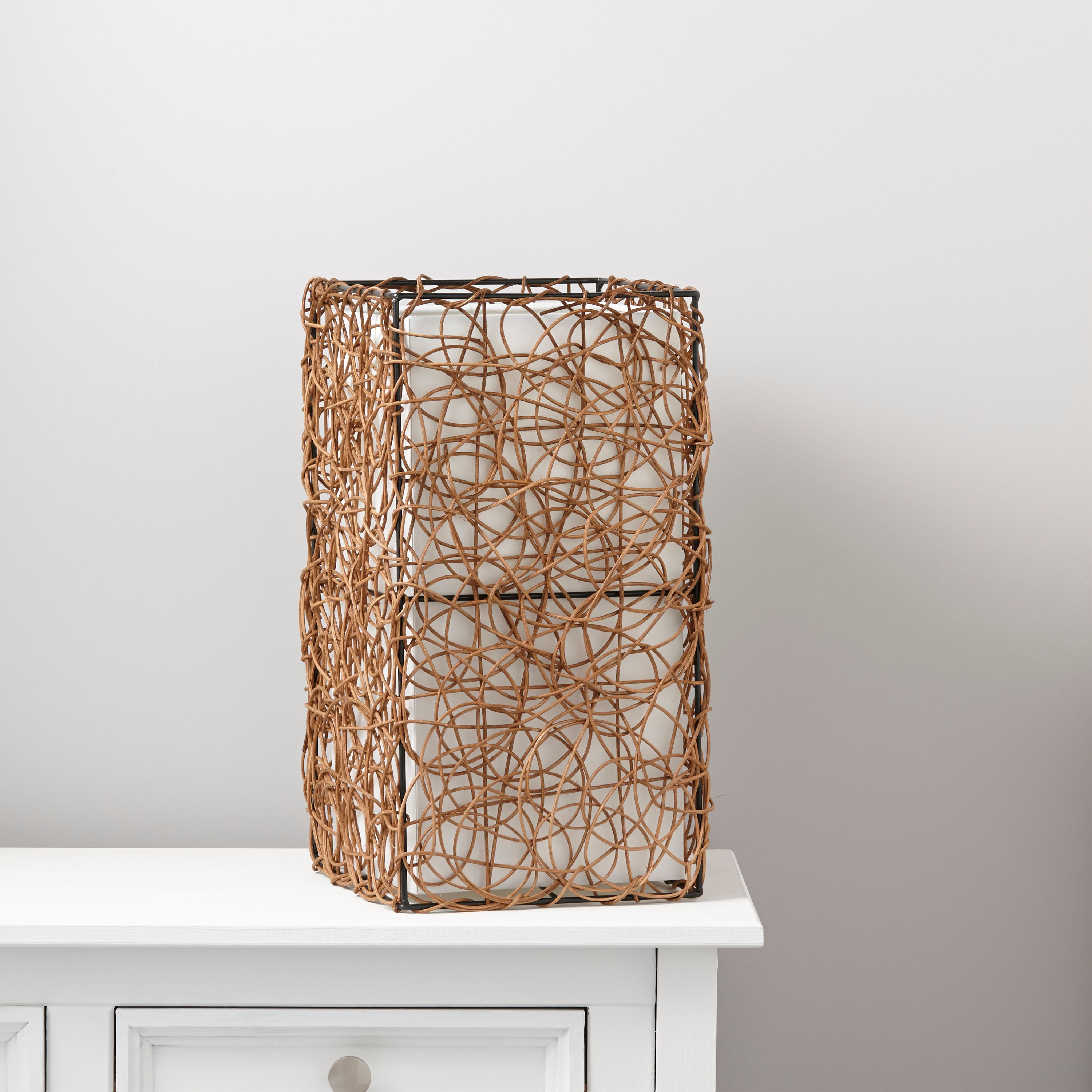 Plymouth brown cream rattan effect table lamp departments diy plymouth brown cream rattan effect table lamp departments diy at bq aloadofball Choice Image