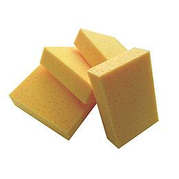 B&Q Sponge, Pack of 4