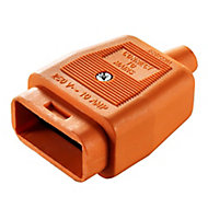 B&Q 10A 2 Pin plug & socket