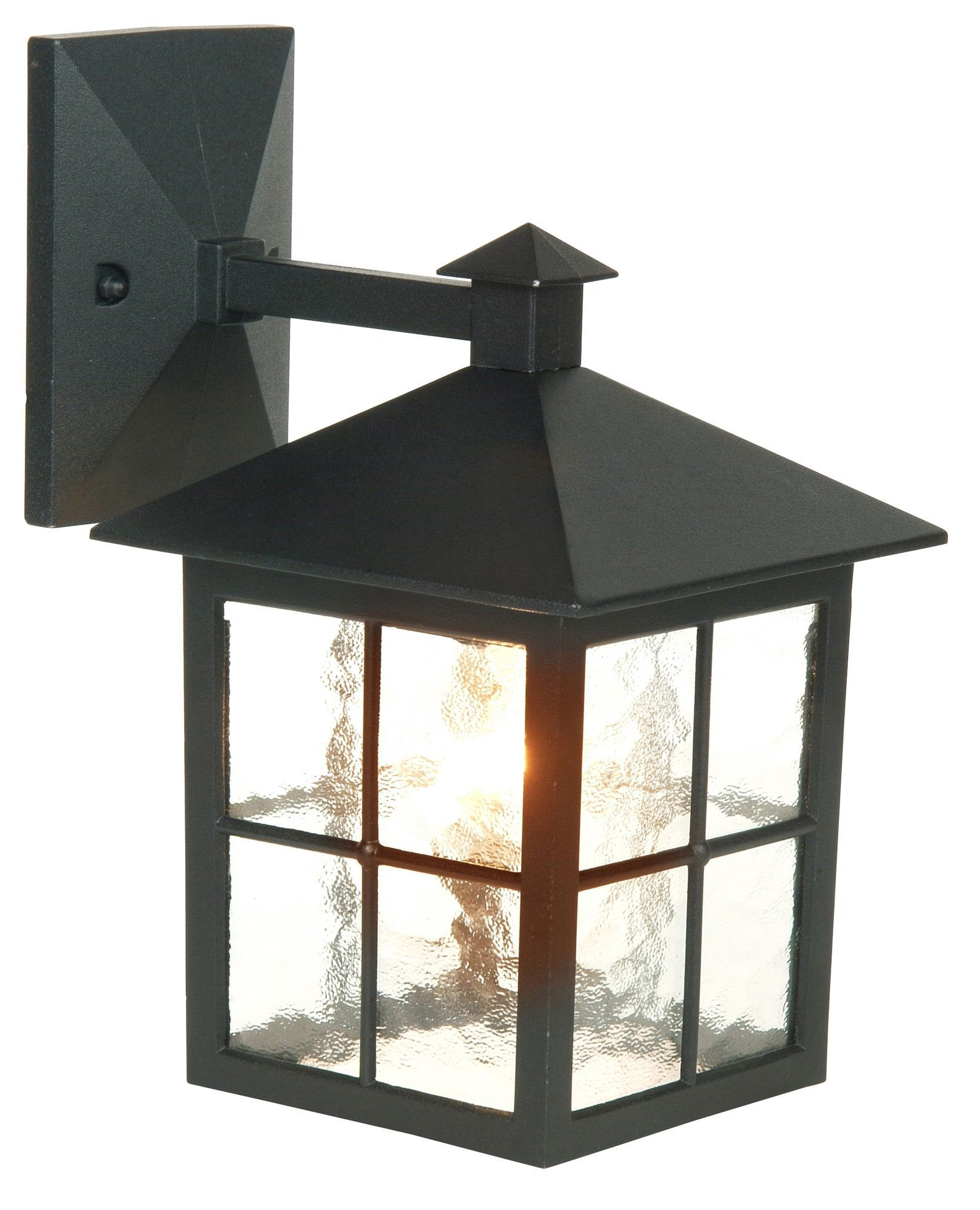 Maine black mains powered external wall lantern departments maine black mains powered external wall lantern departments diy at bq aloadofball Choice Image