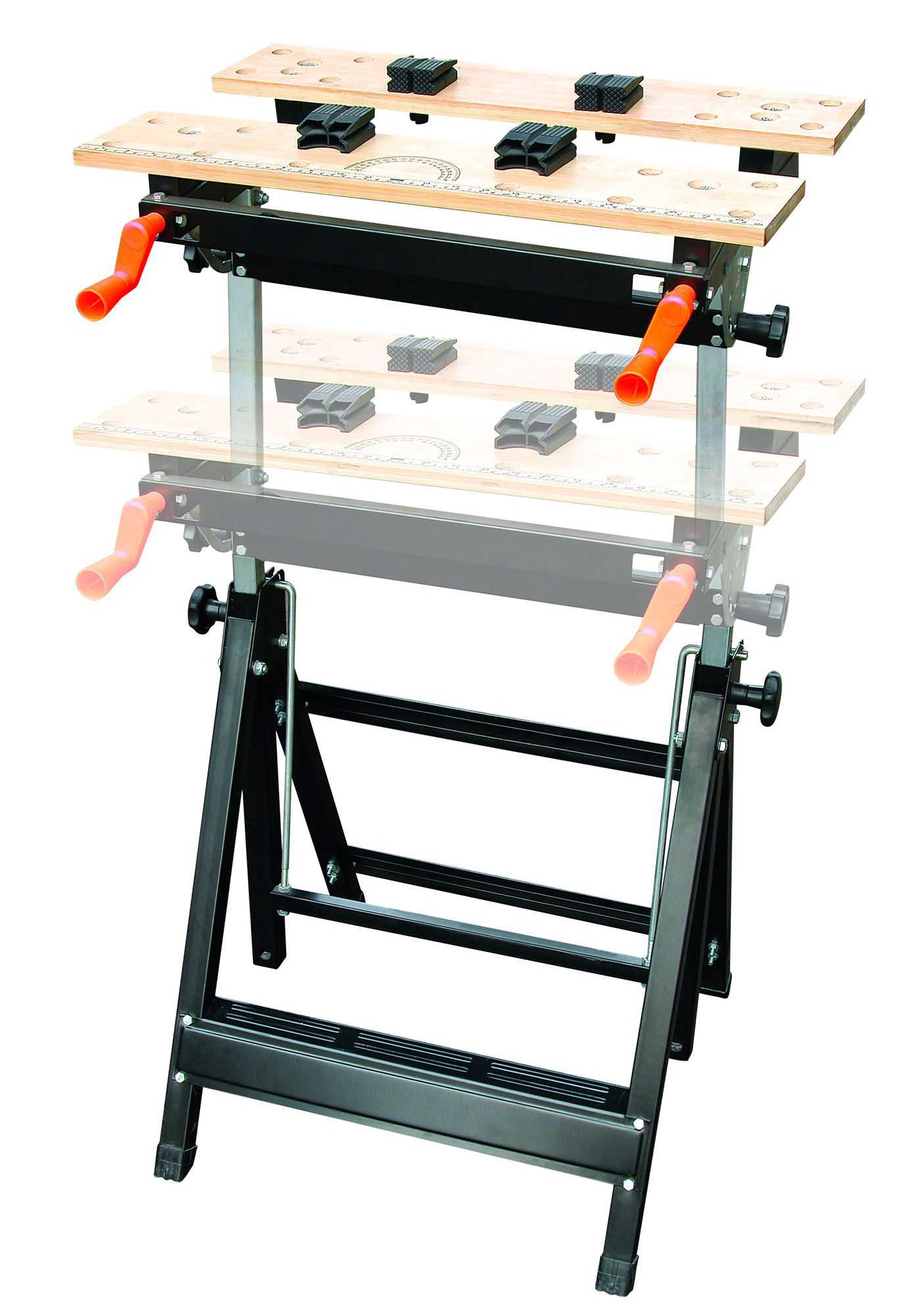 B Amp Q Foldable Vice Jaw Clamp Workbench W 605mm