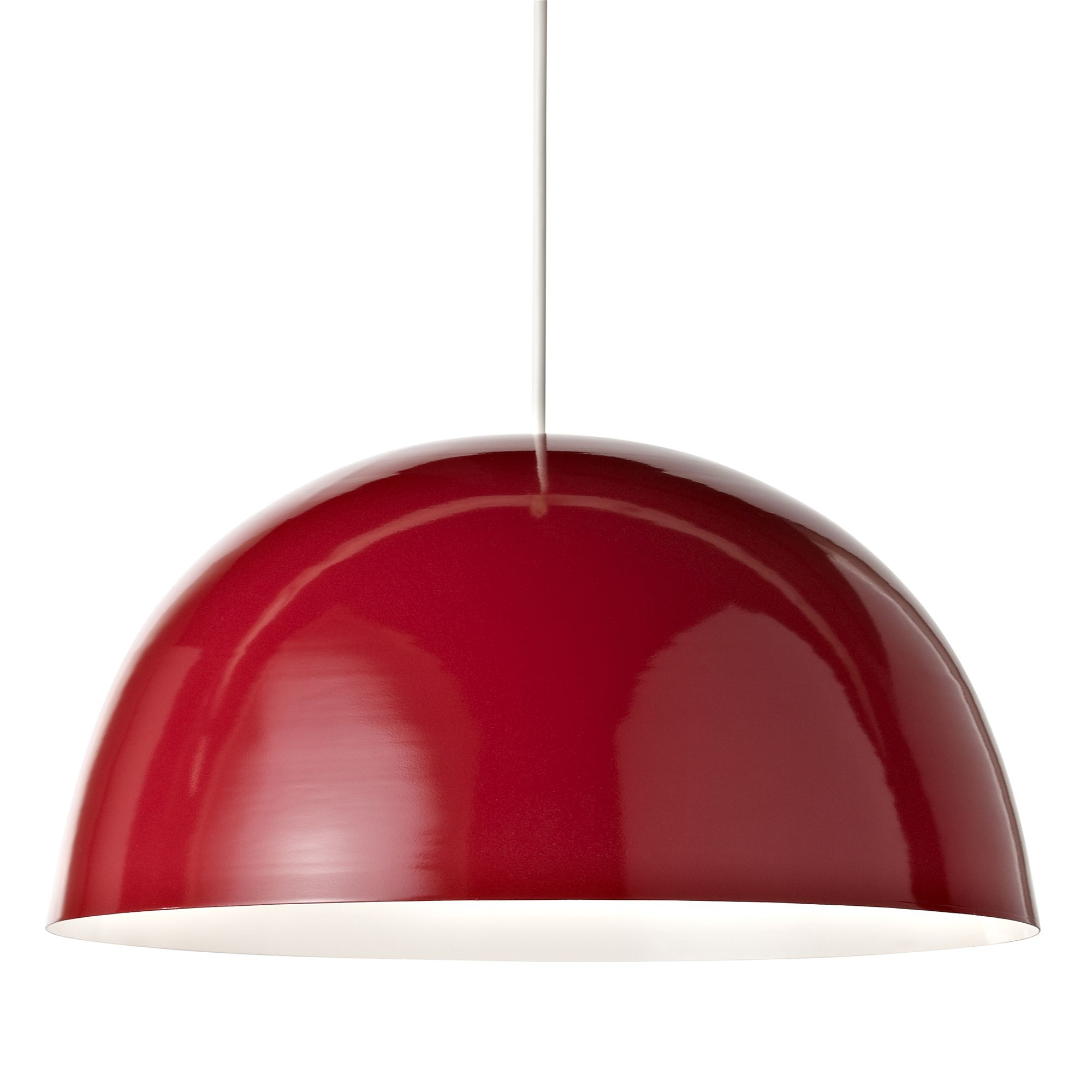 Colours cupola red light shade d45cm departments diy at bq aloadofball Image collections