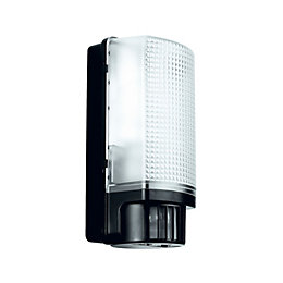 Blooma Larcia Black 60W Mains Powered External Pir