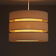 Colours Trio Cream 3 tier Light shade (D)350mm