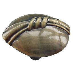 B&Q Round Furniture knob, Pack of 1