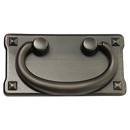 B&Q Bronze Effect Gate Gate Pull Handle, Pack