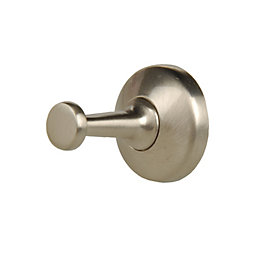 B&Q Zinc Alloy Hat & Coat Hook