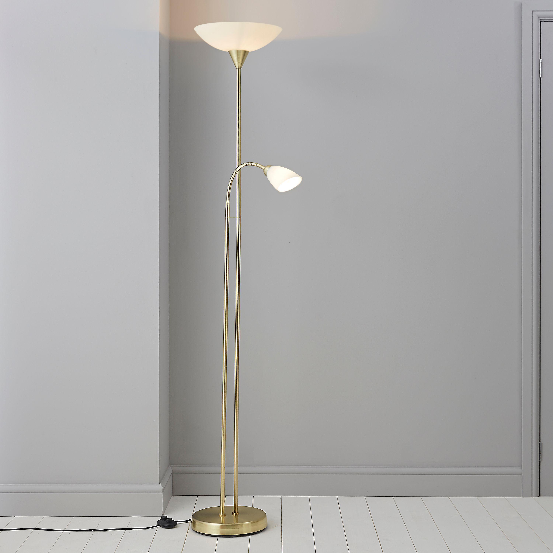 Carpio Gold Floor Lamp