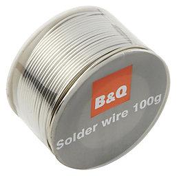 B&Q Solder Wire 100G