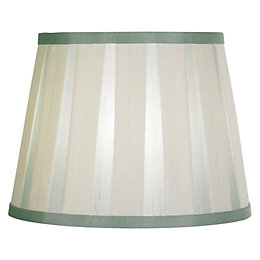 Colours Margaret Duck Egg & Cream Striped Light