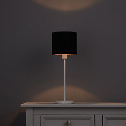 Colours Briony Black Light Shade (D)150mm